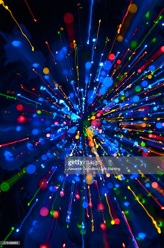 color explosion zoom burst light painting stock photo getty images