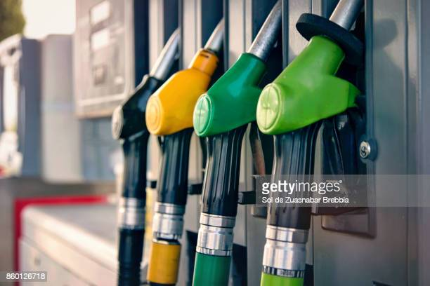 Color gasoline, diesel, pumps
