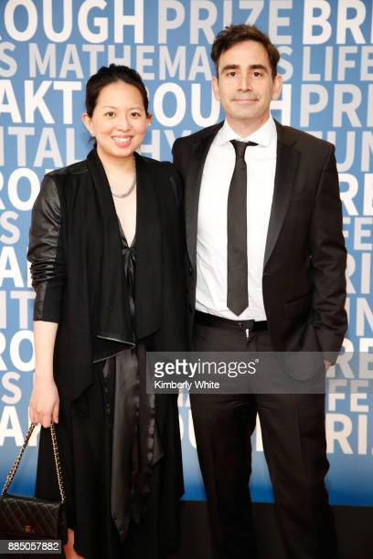 Color Genomics Founder Elad Gil and guest attend the 2018 Breakthrough Prize at NASA Ames Research Center on December 3 2017 in Mountain View...