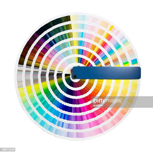 color guide circle - printing out stock pictures, royalty-free photos & images