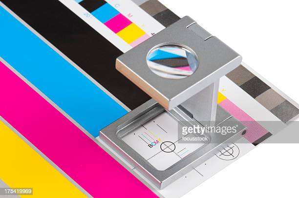 color guide - printout stock pictures, royalty-free photos & images