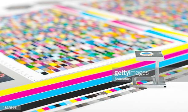 color guide - track imprint stock photos and pictures