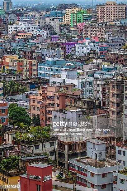 Color of Dhaka City