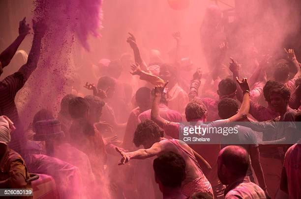 color of joy-holi festival,india - maharashtra stock pictures, royalty-free photos & images
