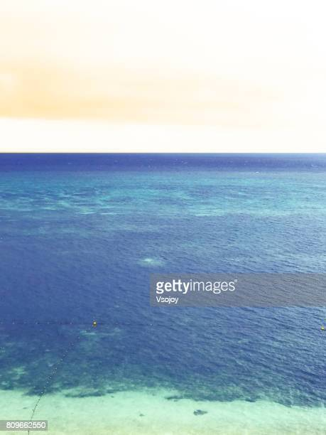 Color palette from the sky and sea, Onna, Okinawa, Japan