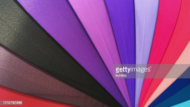 color pattern of an umbrella background. - green colour ストックフォトと画像