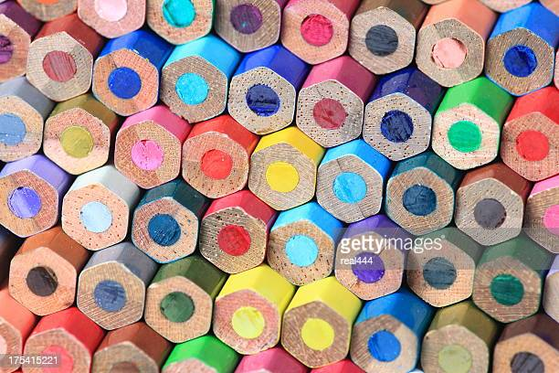 color pencils - color pencil stock pictures, royalty-free photos & images