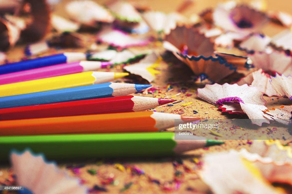 Lápices de Color : Foto de stock