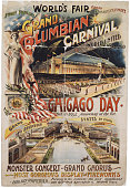 Color poster for the chicago worlds fair or the worlds columbian of picture id88811128?s=170x170