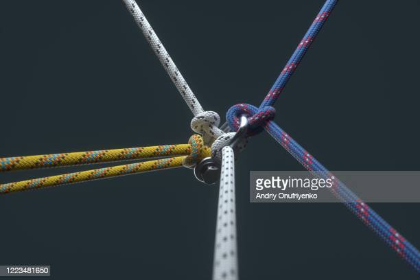color ropes - prop stock pictures, royalty-free photos & images