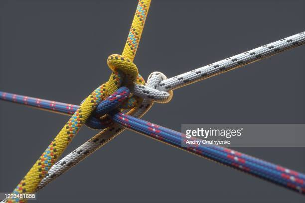 color ropes - confirmation stock pictures, royalty-free photos & images