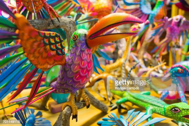 color surge - alebrije stock pictures, royalty-free photos & images