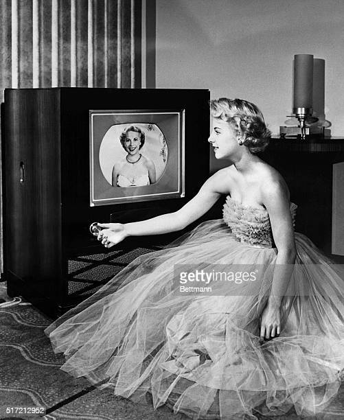 "Color television made its debut after the Federal Communications Commission accepted the RCA-developed ""Compatible Color"" System permitting..."