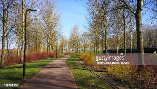 color trail - milton keynes stock pictures, royalty-free photos & images