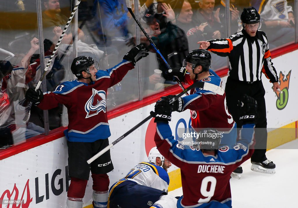 NHL: OCT 19 Blues at Avalanche