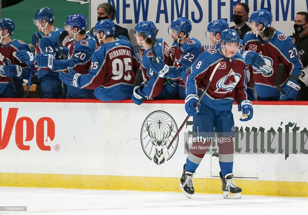 NHL: JAN 31 Avalanche at Wild : News Photo