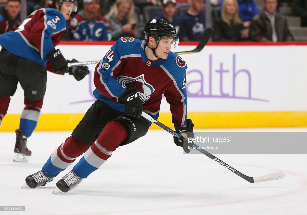 NHL: NOV 16 Capitals at Avalanche : News Photo