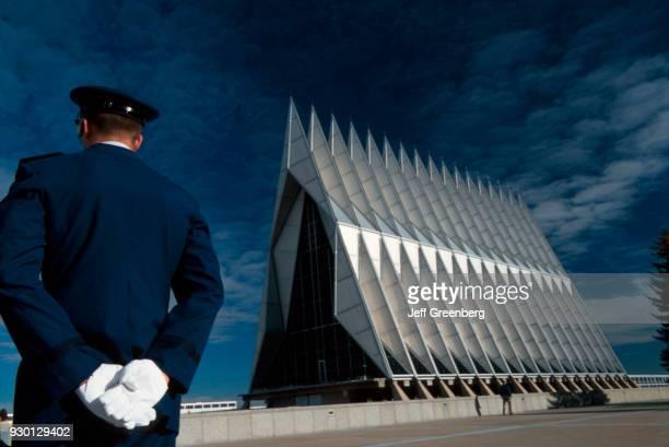 Colorado Colorado Springs US Air Force Academy Chapel Interior