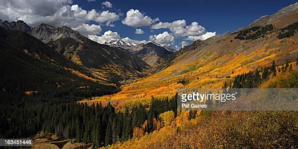 colorado colors - san juan mountains stock photos and pictures