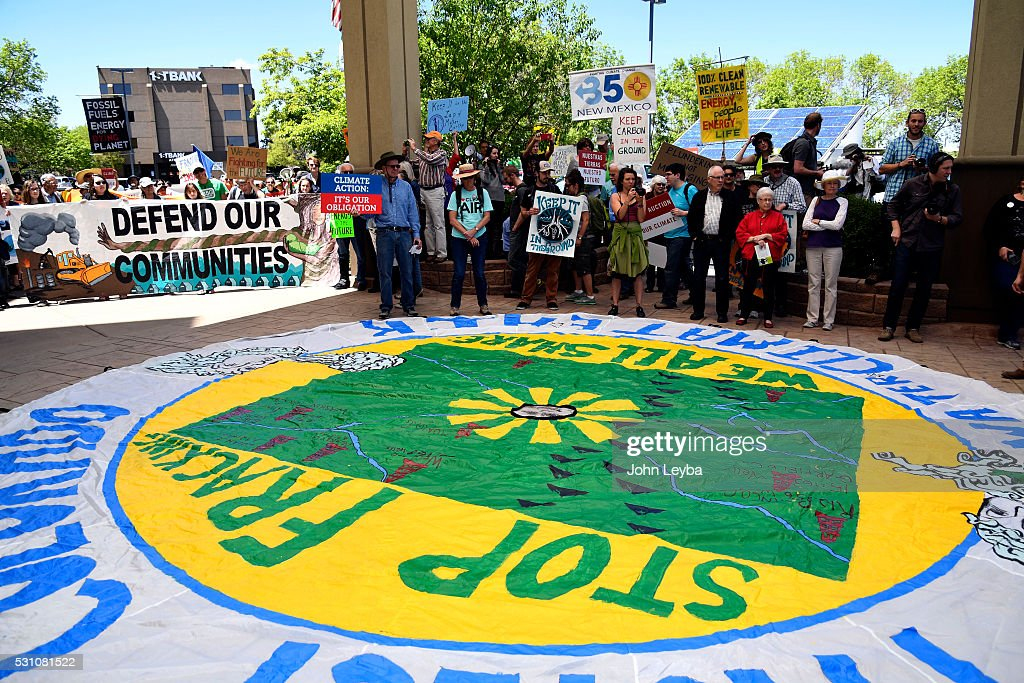 Hundreds of Colorado community, climate and fracking activists will protest a Bureau of Land Management : News Photo