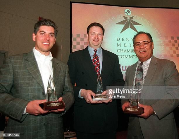 ' Denver Metro Chamber of Commerce 2000 Business Award Breakfast' The Denver Post Minority Business Award winner and the winners of the Emerging...