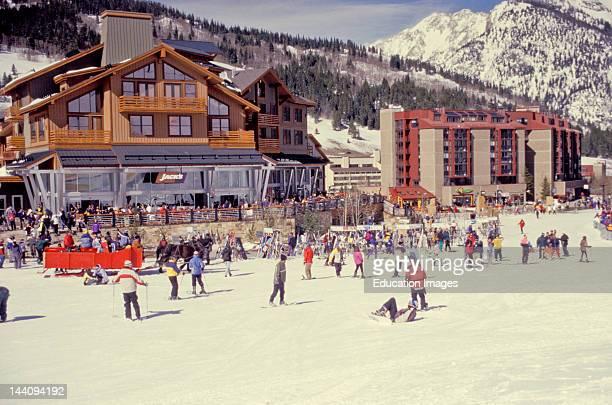 Colorado Copper Mountain The Village At Copper Mountain Ski Resort