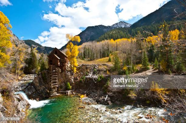 Colorado, Crystal, Scenic Historic Crystal Mill