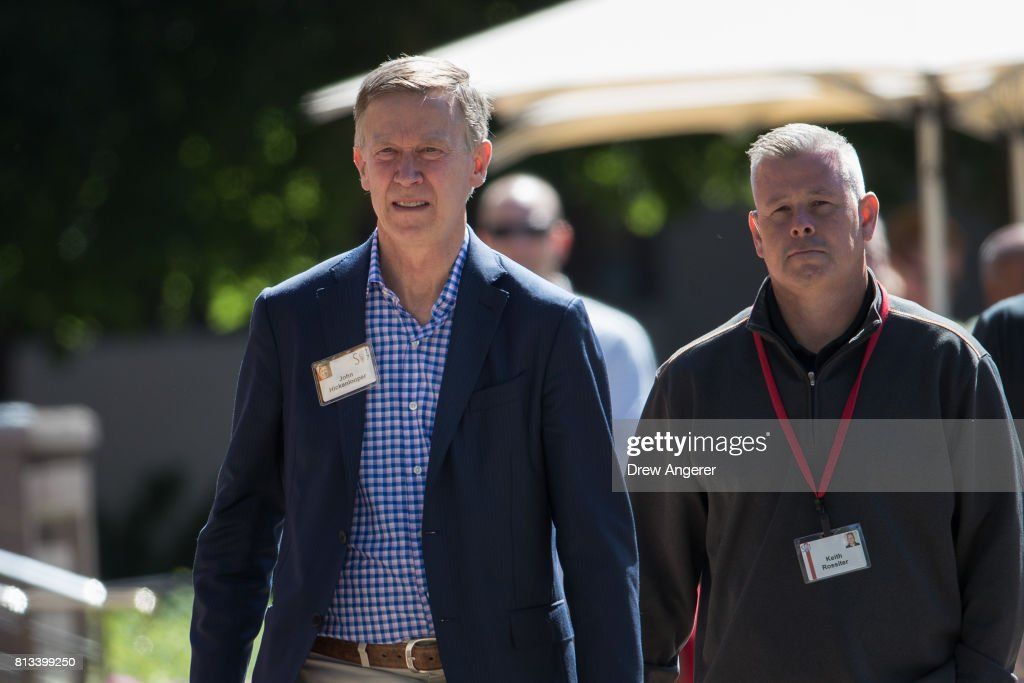 Tech And Media Elites Attend Allen And Company Annual Meetings In Idaho : News Photo