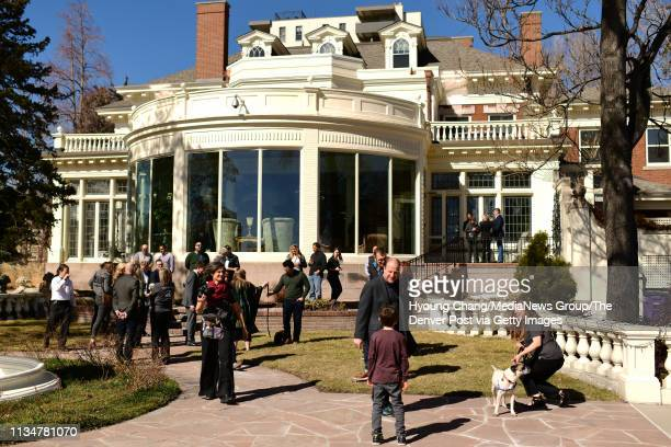 Colorado Governor's Mansion in Denver March 9 2019 First Gentleman Marlon Reis hosted a free pet adoption event in conjunction with Denver Animal...