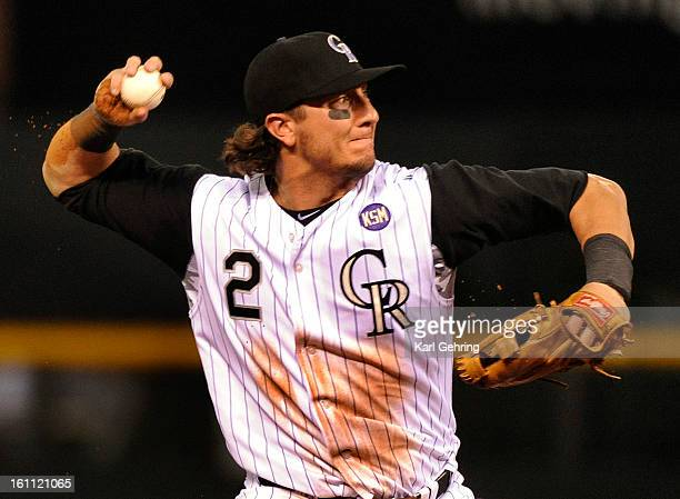 Colorado infielder Troy Tulowitzki fired to first to put out Derrek Lee in the fourth inning The Colorado Rockies hosted the Chicago Cubs Friday...