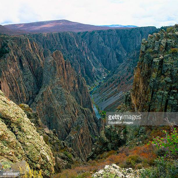 Colorado Montrose Black Canyon of the Gunnison National Park Chasm View