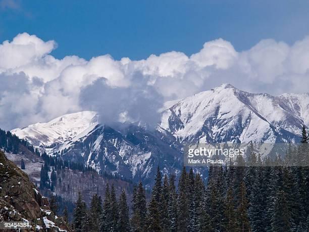 colorado mountains - san juan mountains stock photos and pictures
