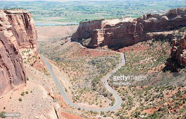 colorado national monument - colorado national monument stock-fotos und bilder