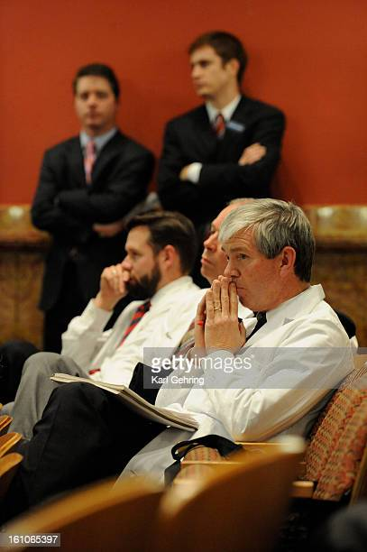 HEALTH Colorado physicians listened to debate Monday afternoon February 18 2008 at the State Capitol during a Committee hearing regarding Senate Bill...