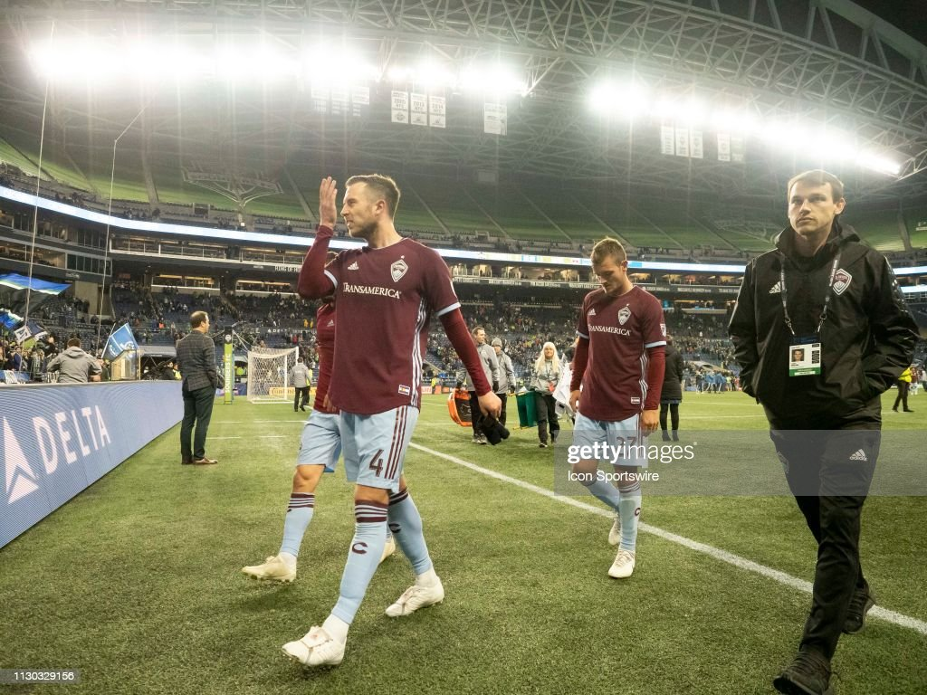 SOCCER: MAR 09 MLS - Colorado Rapids at Seattle Sounders FC : News Photo
