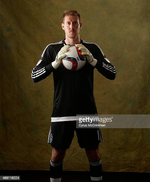 Colorado Rapids goalie Clint Irwin during Picture Day for the team at their headquarters in Commerce City on Thursday, March 12, 2015.