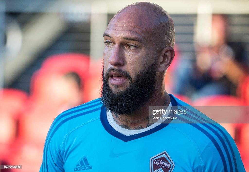 SOCCER: JUL 28 MLS - Colorado Rapids at DC United : News Photo