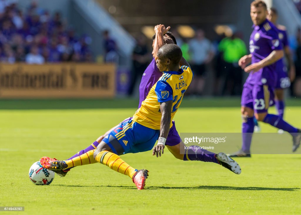 SOCCER: APR 29 MLS - Colorado Rapids at Orlando City SC : News Photo