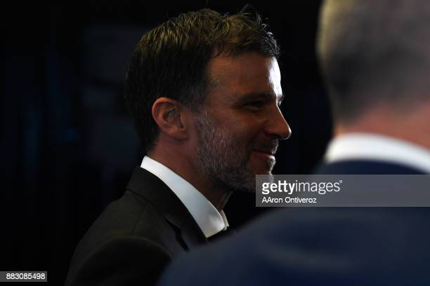 Colorado Rapids new head coach Anthony Hudson is introduced to the media on Thursday November 30 2017 Hudson formerly coached the New Zealand...