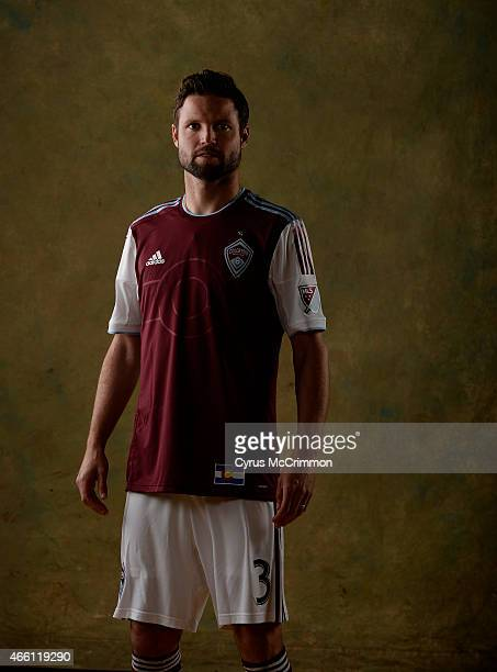 Colorado Rapids player Drew Moor at Picture Day for the Rapids on Wednesday March 4 2015 at The Pepsi Center in Denver The Rapids open their season...