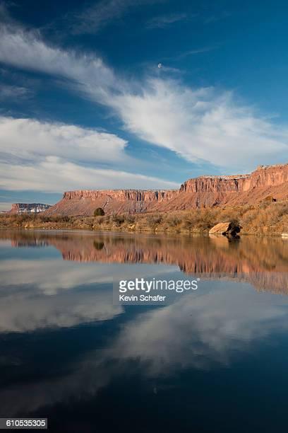 Colorado River and skies, Utah