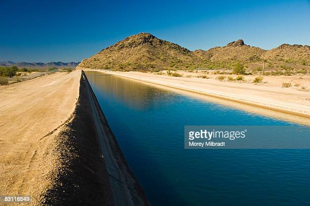 Colorado River aqueduct, Arizona, USA