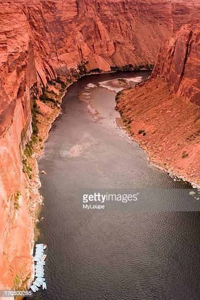 Colorado River At Glen Canyon In Page Az