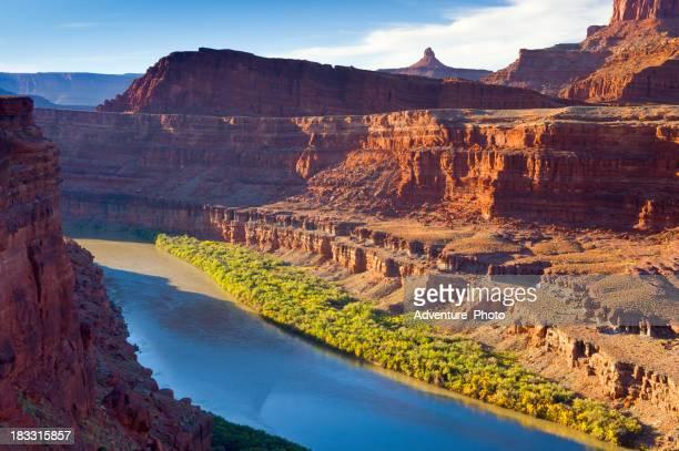 Colorado River Flowing Through Canyon Country Southwest USA