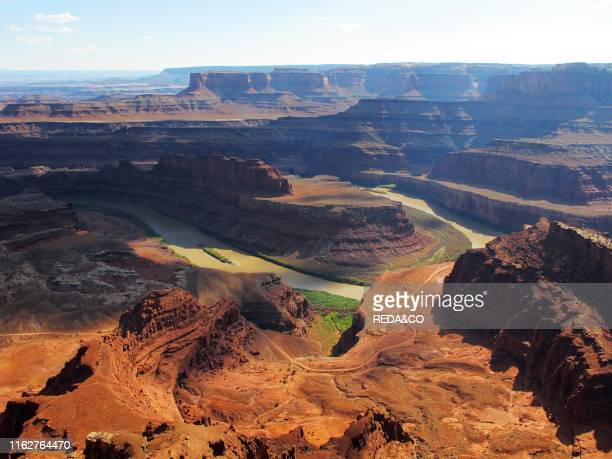 Colorado River from Dead Horse Point Dead Horse Point State Park near Moab Utah United States of America North America
