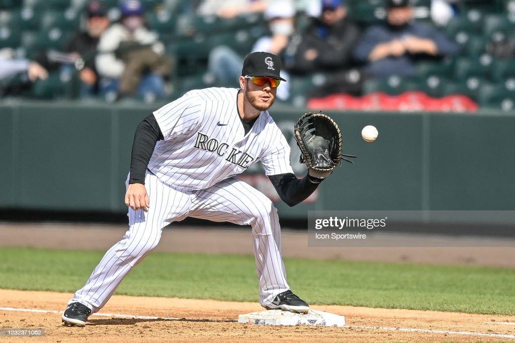 MLB: APR 17 Mets at Rockies : News Photo