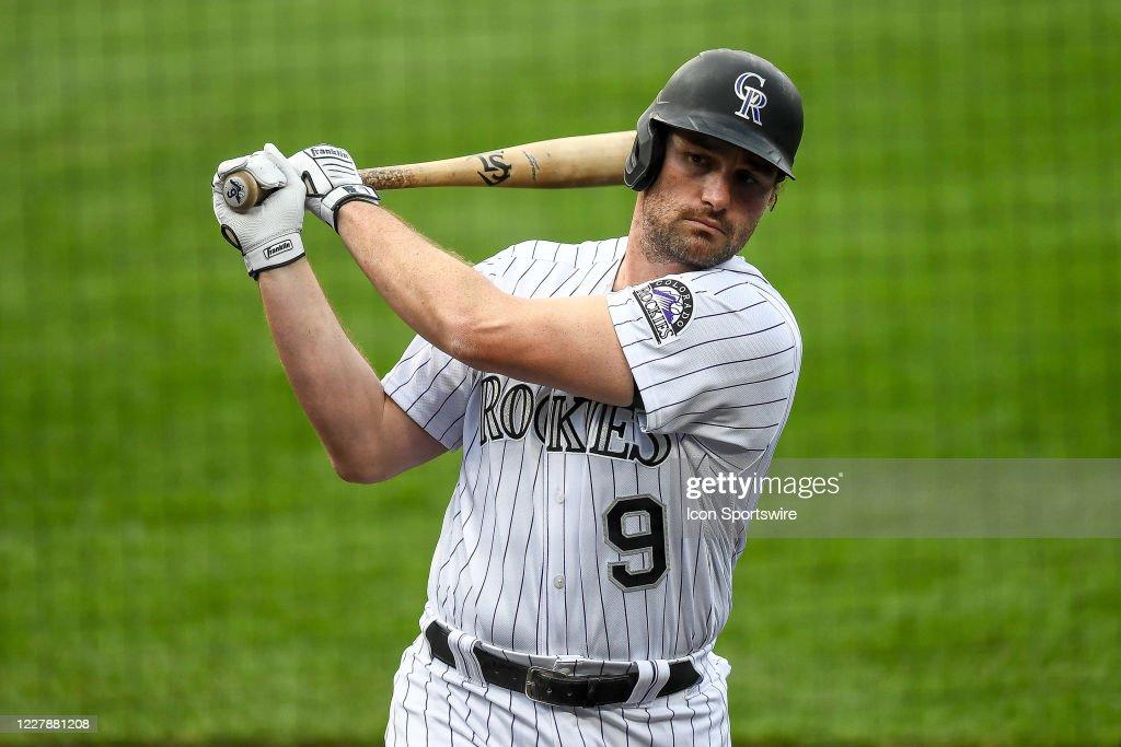 MLB: JUL 31 Padres at Rockies : News Photo