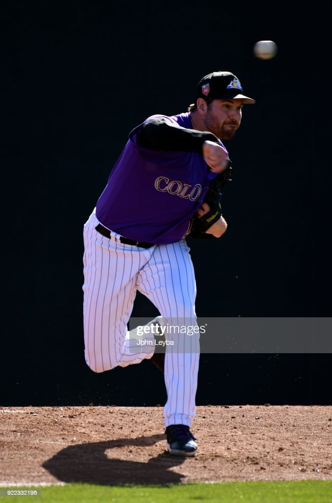 Colorado Rockies Spring Training Salt River Fields at Talking Stick : News Photo