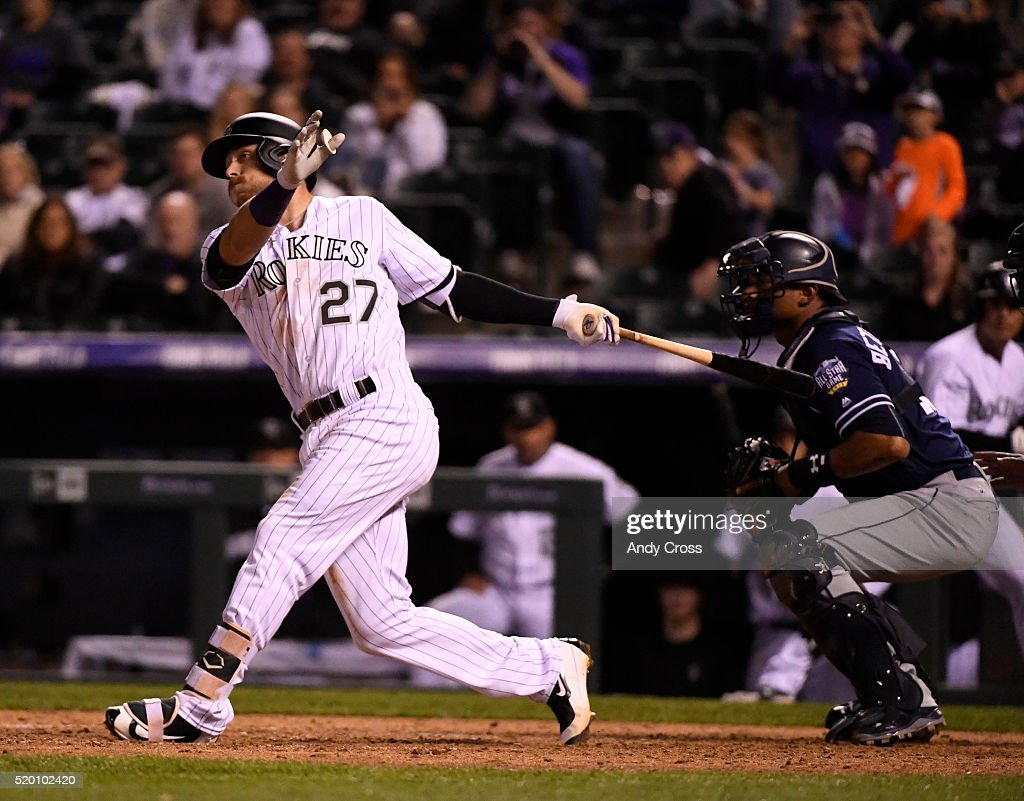 Colorado Rockies vs San Diego Padres : News Photo