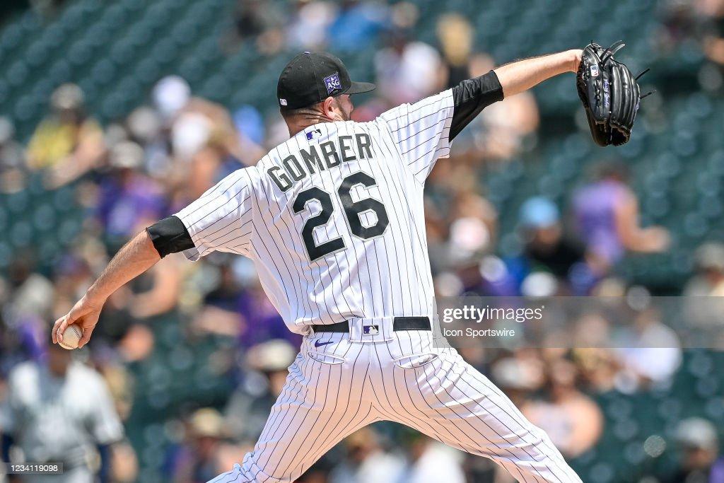 MLB: JUL 21 Mariners at Rockies : ニュース写真